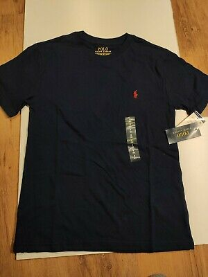 Ralph Lauren Polo Boys T-Shirt 136-138cm Blue