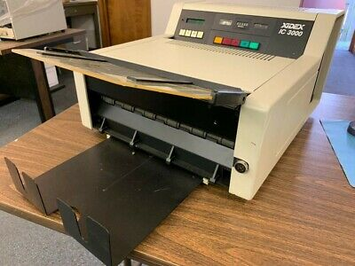 Xidex Microfilm Recorder I/C 3000 - 25X reduction - used by seller