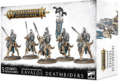 Kavalos Deathriders Ossiarch Bonereapers Warhammer AOS