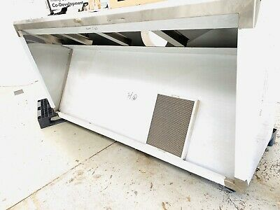 Commercial Kitchen Exhaust Hood Stainless Steel - Brand New