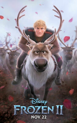 """Frozen 2 T5 - B2G1F Movie  Collector/'s  Poster Print 11/"""" x 17/"""""""