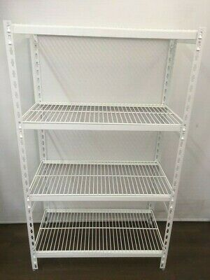 Coolroom Coldroom Shelving Powder Coated Post Wire Shelves 1800H x 450W