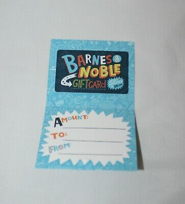 Barnes and Noble Gift Card ~ $25.00 ~ Books, CD's, DVDs, Toys