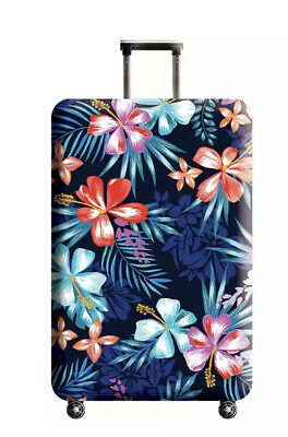 LOT OF 2~~NEW - XL Floral Protect Travel Luggage Suitcase Soft Dust Cover