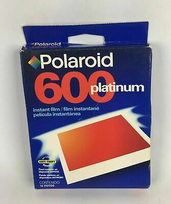 Sealed Vintage 3 Pack Polaroid 600 Instant Film 20 Count Per Pack exp: 6/00
