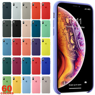 Custodia Per Apple Iphone Xr X Xs Max Originale Silicone Case Cover E Custodie