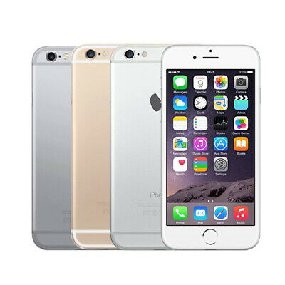 Apple iPhone 6 - 16GB/64GB/128GB Space Gery Silver Gold - Factory Unlocked