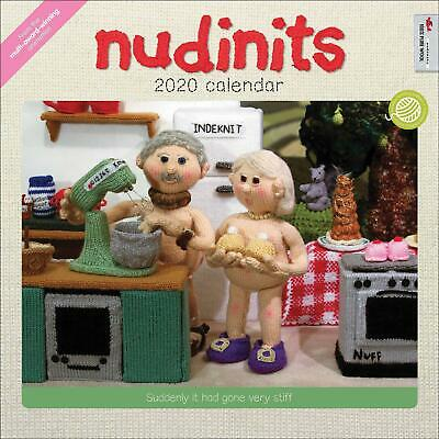 Nudinits 2020 Official Square Wall Calendar