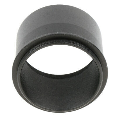 """2"""" 50.8mm to M48*0.75 Mount Adapter with Thread for Telescope Eyepiece Black"""
