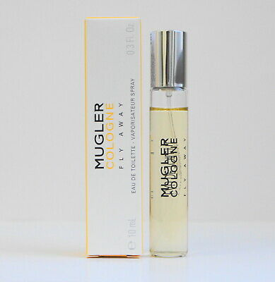 Mugler Cologne FLY AWAY eau de toilette unisex 10 ml 0.34 oz in box travel size