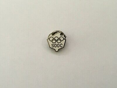 1972 Sapporo Olympic Japanese Pin Badge Committee Pins