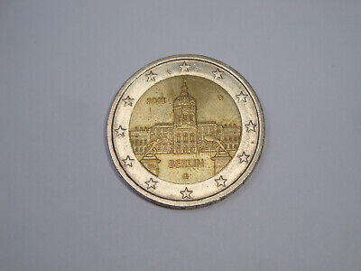 2 EURO COMMEMORATIVA GERMANIA 2018 ZECCA D -- CASTELLO DI CHARLOTTENBURG Berlino