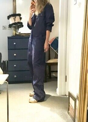 Vintage Boilersuit Blue Size 10