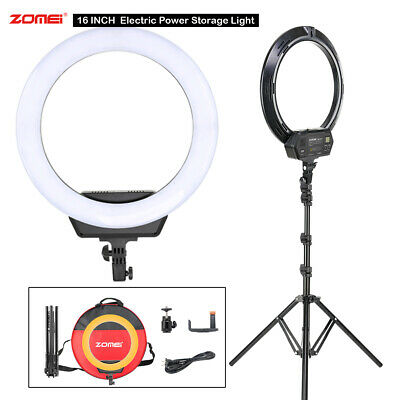 16inch LED Ring Light & Tripod Kit Dimmable Color For Youtube Makeup Live Video