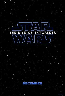 "STAR WARS THE RISE OF SKYWALKER MOVIE POSTER 11""x17"" Photo Print Daisy Ridley"