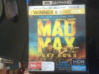 Mad Max Fury Road 4K Ultra Hd