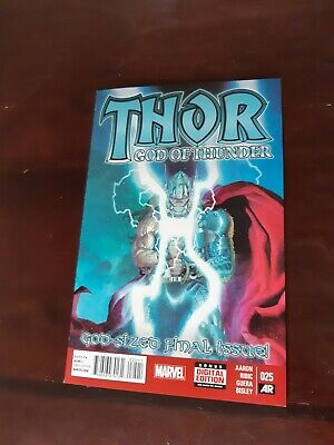 THOR GOD OF THUNDER #25 (2014, Marvel Comics) 1ST PRINT, JANE FOSTER