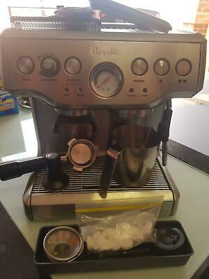 Breville Coffee Machine RRP $699. Hardly used & Great Condition