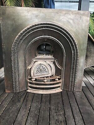 Victorian Cast Iron Fireplace Insert (TWO OF THEM) 965mmX965mm