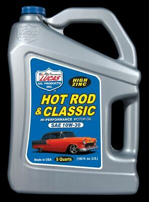 10679 Lucas Oil Products Hot Rod & Classic Car Hp Motor Oil Sae 10W 30