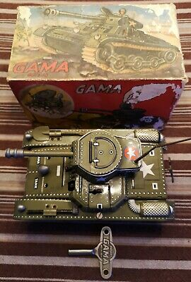 Top Gama Tank T 60 Metall Panzer Made in Western Germany mit Schlüssel