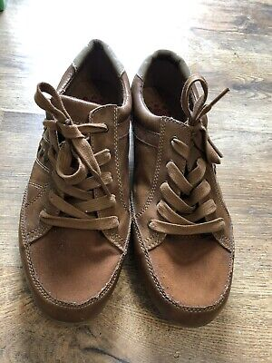 Lotus Relife Mens Tans Suede Leather Lace Up Shoes Size 8 UK