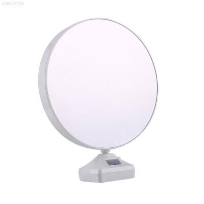4371 LED Light Magic Mirror Photo Frame Plastic Gift Bedroom Creation Table