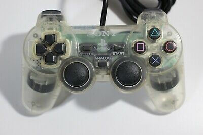 PlayStation PS2 official Controller Clear color Dualshock 2 Game JAPAN F/S