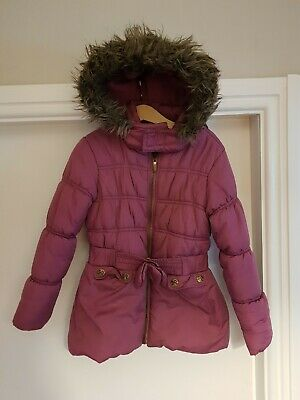 Sweet Millie Age 6 Girls Padded Coat