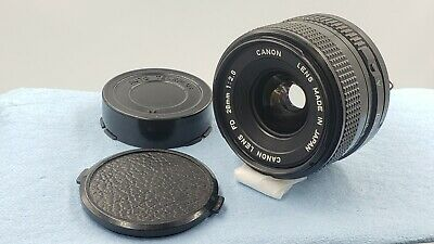 【Near MINT】Canon NEW FD NFD 28mm f/2.8 MF Wide Angle Lens FROM JAPAN  #464