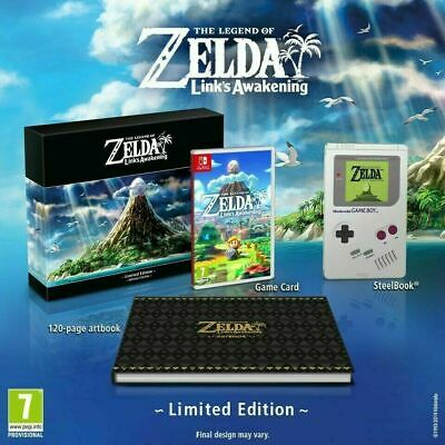 The Legend of Zelda: Link's Awakening Limited Edition Nintendo Switch (+ poster)
