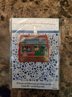 Rare Limited edition Disney skyliner Mickey and Minnie cast member opening day