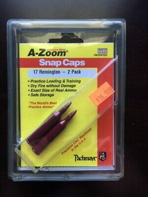 A-ZOOM Action Proving Dummy Round Snap Cap 7x64mm and 7x65mm Rimm # 12293  New!