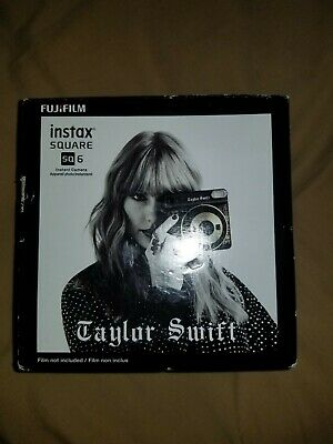 "NEW! Instax Square SQ6 Instant Film Camera Taylor Swift Edition ""reputation"""