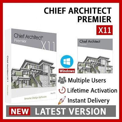 Chief Architect Premier X11 2019 Full Version Lifetime