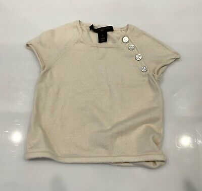 Louis Vuitton Baby Girl Top Blouse Size 2