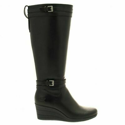 Womens Ugg Neils Biker Stout Leather Uk Size 4.5