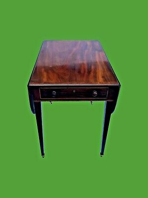 Antique Victorian Mahogany Pembroke Table  Furniture