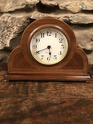 Antique Mahogany Wooden Mantle Clock 8 Day Seth Thomas Made In U.S.A.