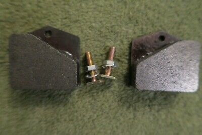 Brake Pad Set (Square type) with bolts for Dumpers Thwaites Compair Holman RJE