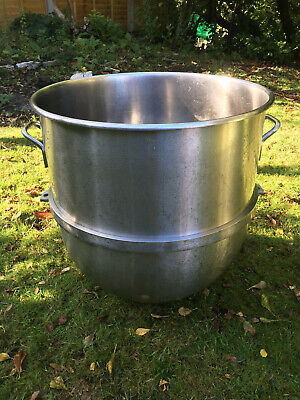 140qt Stainless Steel Mixer Bowl for Hobart Mixers