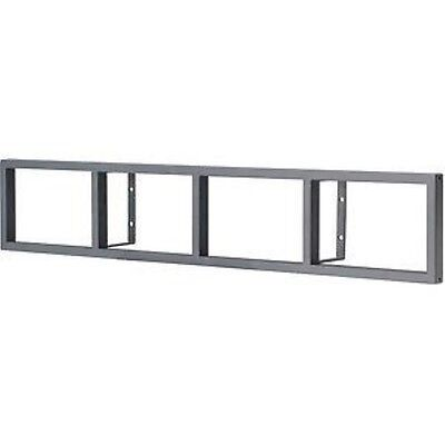 Ikea Lerberg CD/DVD/GAMES/BLU-RAY Regal Wall Rack/Shelve Anthrazit Grey Grau