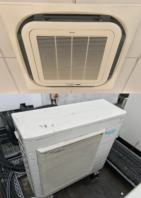 Daikin Heat Pump & Ceiling cassette A/C Air Conditioning Unit 5kw Heat & Cool