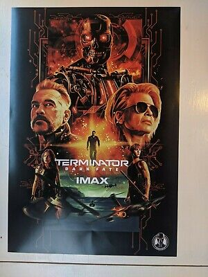Terminator Dark Fate Movie 13x19 Limited Edition IMAX Poster PROMO