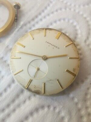Vintage Longines 1960s 19.4 Movement Spares And Repairs