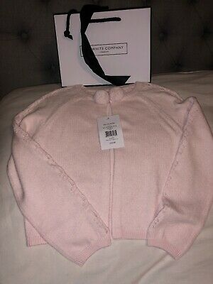 🎁BNWT The Little White Company Girls Cardigan Aged 5-6 Years