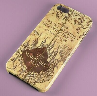 Harry Potter Marauders Map FULLY WRAPPED HARD PHONE CASE COVER IPHONE SAMSUNG