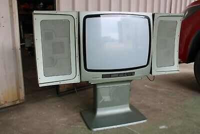 Vintage Retro Nordmende Television TV Space Age Germany Colour Stereosonic 2436