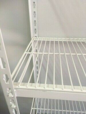Coolroom Coldroom Powder Coated Post Wire Bridging Shelves525W Single Shelf only
