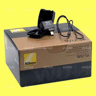 Genuine Nikon WU-1a Wi-Fi Wireless Mobile Adapter D3300 D5200 D7100 P7800 Df
